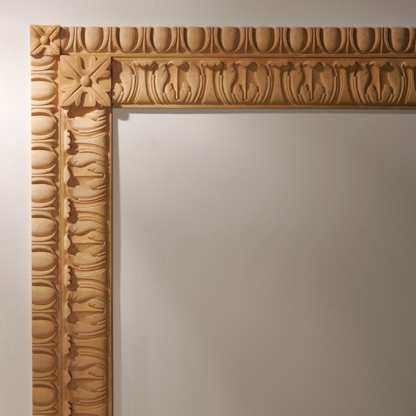 Agrell Architectual Carving. Off the shelf acanthus egg dart moulding