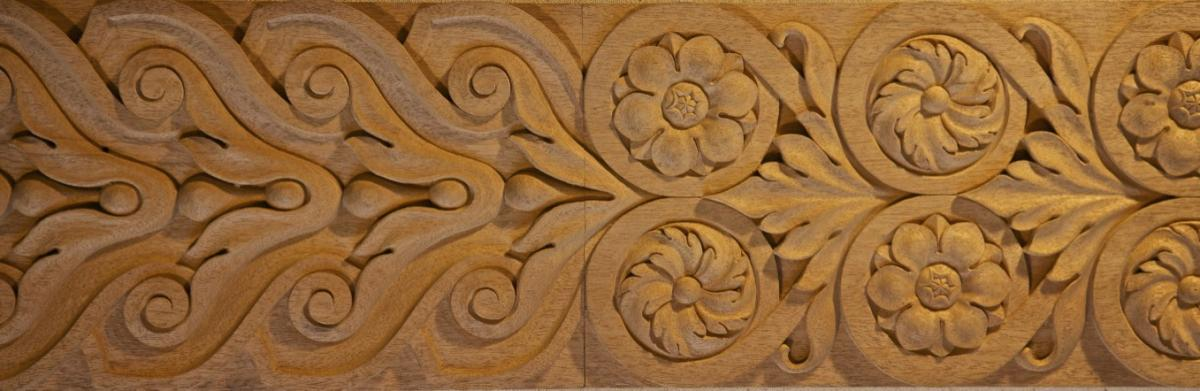 Baroque agrell architectural carving