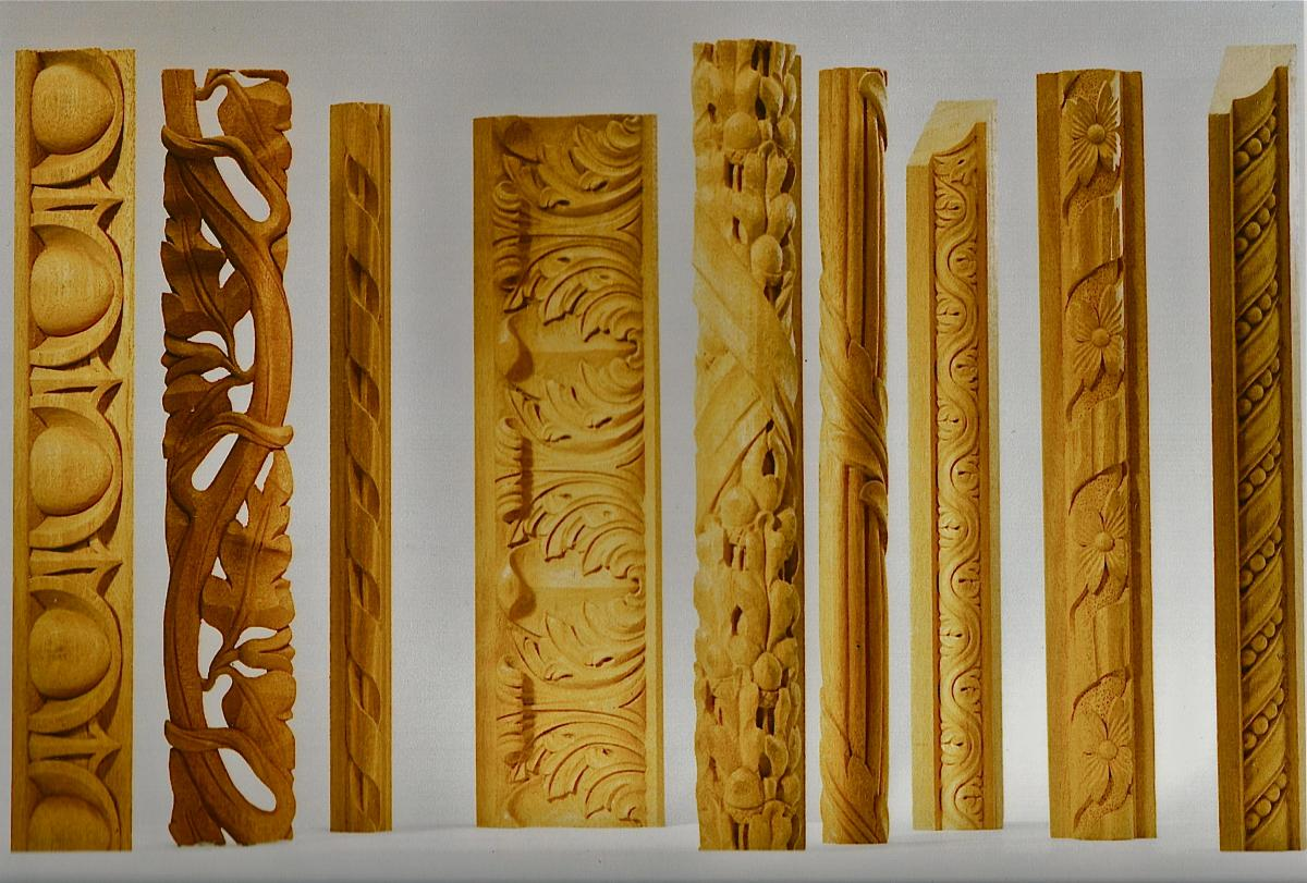 Hand Carved Architectural Mouldings | Wood Mouldings | Agrell