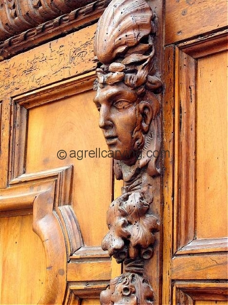 The Beautiful Carved Doors Of Aix En Provence Agrell