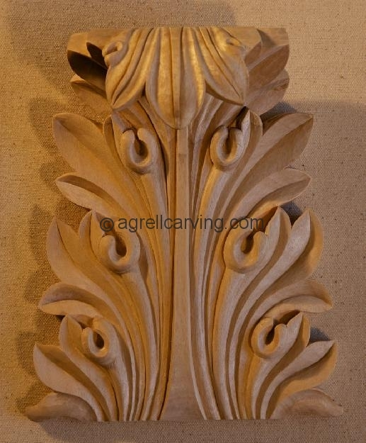 Greek agrell architectural carving