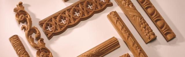 hand carved architectural mouldings wood mouldings