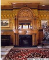 Governor's Mansion - Grand fireplace