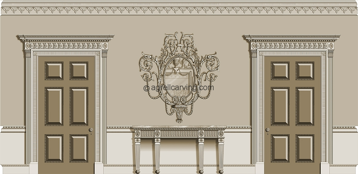 Neoclassical Room Agrell Architectural Carving