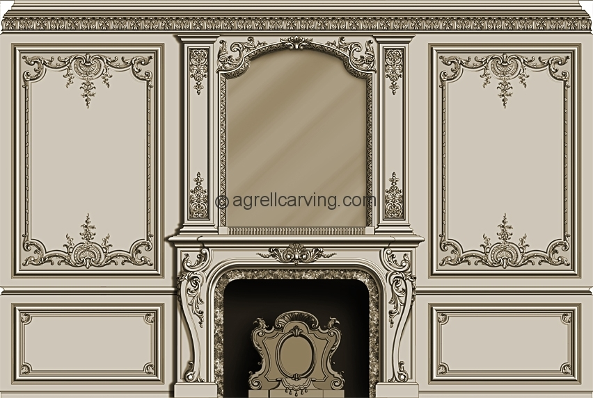 french style room agrell architectural carving