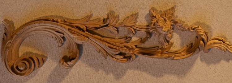 Wood appliques for furniture carved decoration agrell