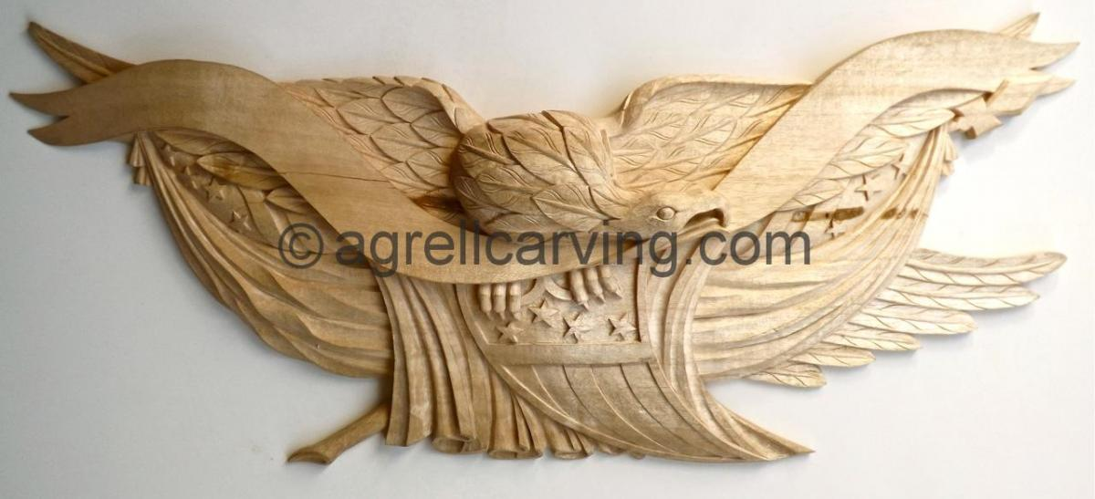 Agrell architectural carving high end wood