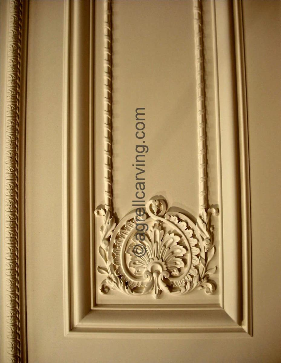Agrell Architectural Carving French Panelling for 100 Park Lane Dudley House 50ft Ballroom