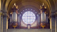 Cathedral of St. Paul, Minnesota. Organ Case